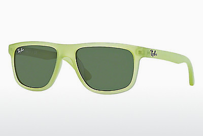 слънчеви очила Ray-Ban Junior RJ9057S 198/71 - зелени, Acid