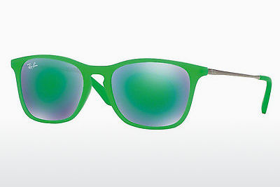 слънчеви очила Ray-Ban Junior RJ9061S 70073R - зелени