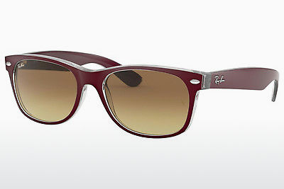 слънчеви очила Ray-Ban NEW WAYFARER (RB2132 605485) - пурпурни, Bordo