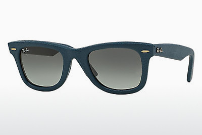 слънчеви очила Ray-Ban WAYFARER LEATHER (RB2140QM 116871) - сини
