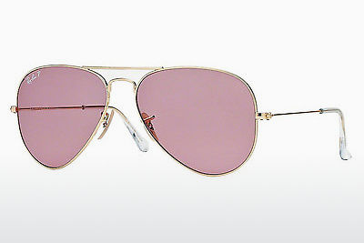 слънчеви очила Ray-Ban AVIATOR LARGE METAL (RB3025 001/15) - златисти