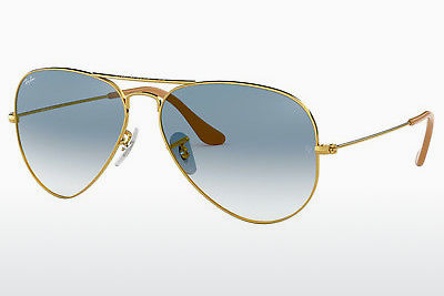 слънчеви очила Ray-Ban AVIATOR LARGE METAL (RB3025 001/3F) - златисти