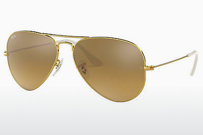 слънчеви очила Ray-Ban AVIATOR LARGE METAL (RB3025 001/3K) - златисти