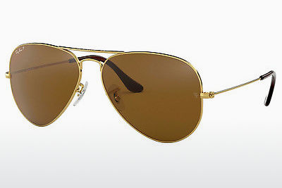 слънчеви очила Ray-Ban AVIATOR LARGE METAL (RB3025 001/57) - златисти