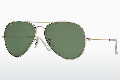 слънчеви очила Ray-Ban AVIATOR LARGE METAL (RB3025 001) - златисти