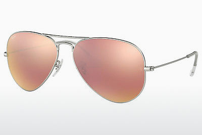 слънчеви очила Ray-Ban AVIATOR LARGE METAL (RB3025 019/Z2) - сребристи