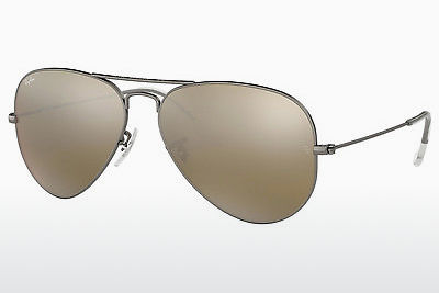 слънчеви очила Ray-Ban AVIATOR LARGE METAL (RB3025 029/30) - сиви