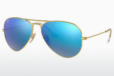 слънчеви очила Ray-Ban AVIATOR LARGE METAL (RB3025 112/17) - златисти