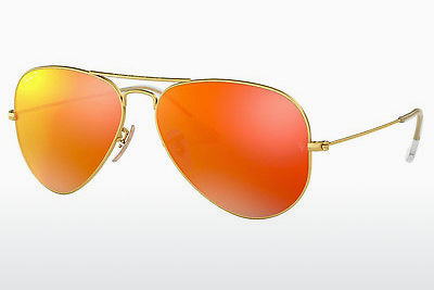 слънчеви очила Ray-Ban AVIATOR LARGE METAL (RB3025 112/4D) - златисти