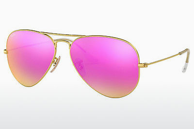 слънчеви очила Ray-Ban AVIATOR LARGE METAL (RB3025 112/4T) - златисти