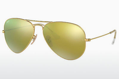 слънчеви очила Ray-Ban AVIATOR LARGE METAL (RB3025 112/93) - златисти