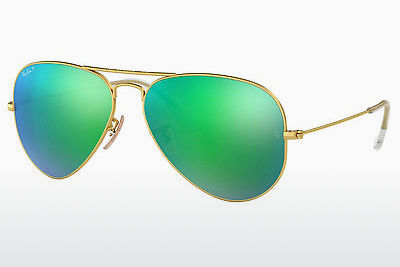слънчеви очила Ray-Ban AVIATOR LARGE METAL (RB3025 112/P9) - златисти