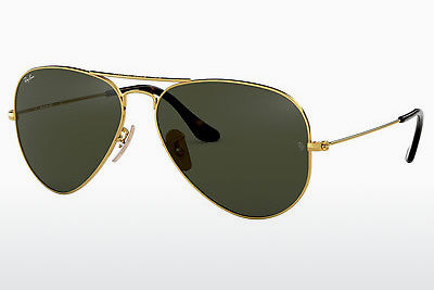 слънчеви очила Ray-Ban AVIATOR LARGE METAL (RB3025 181) - златисти