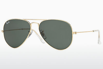 слънчеви очила Ray-Ban AVIATOR LARGE METAL (RB3025 W3234) - златисти