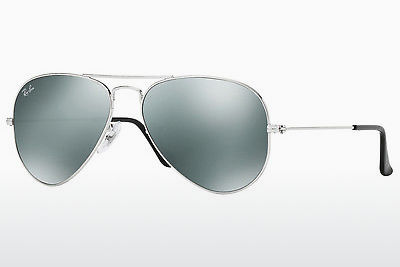 слънчеви очила Ray-Ban AVIATOR LARGE METAL (RB3025 W3275) - сребристи