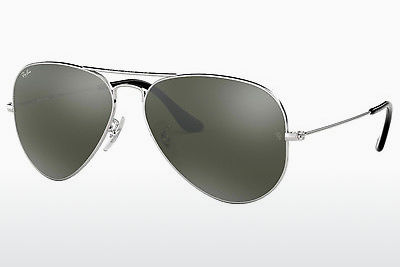 слънчеви очила Ray-Ban AVIATOR LARGE METAL (RB3025 W3277) - сребристи