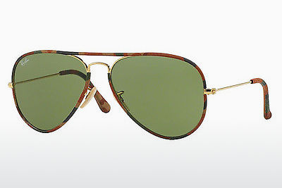 слънчеви очила Ray-Ban AVIATOR FULL COLOR (RB3025JM 168/4E) - златисти