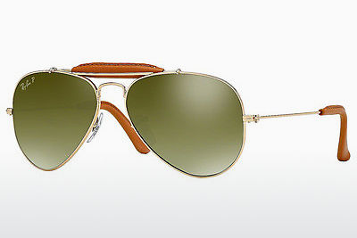 слънчеви очила Ray-Ban AVIATOR CRAFT (RB3422Q 001/M9) - златисти