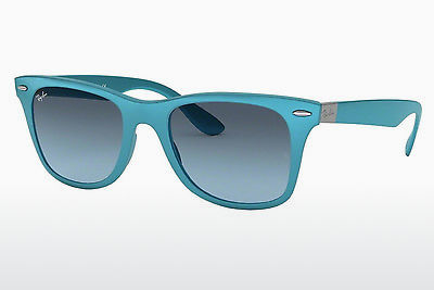 слънчеви очила Ray-Ban WAYFARER LITEFORCE (RB4195 60848F) - сини, Azure