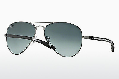 слънчеви очила Ray-Ban AVIATOR TM CARBON FIBRE (RB8307 029/71) - сиви