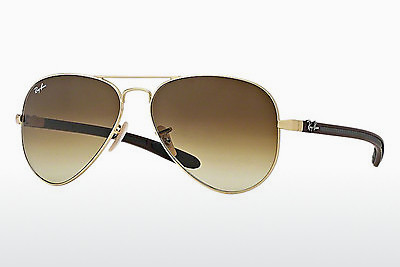 слънчеви очила Ray-Ban AVIATOR TM CARBON FIBRE (RB8307 112/85) - златисти
