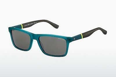 слънчеви очила Tommy Hilfiger TH 1405/S T94/Y1 - зелени, Teal
