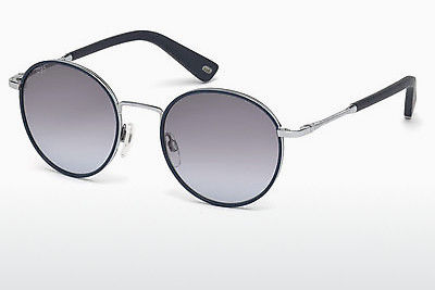 слънчеви очила Web Eyewear WE0167 16W - сребристи, Shiny, Grey