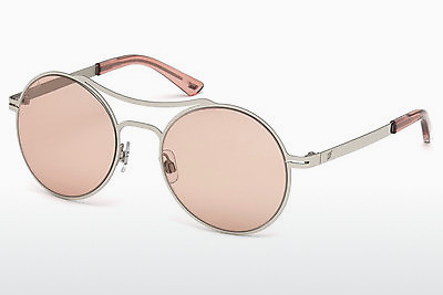 слънчеви очила Web Eyewear WE0171 16E - сребристи, Shiny, Grey