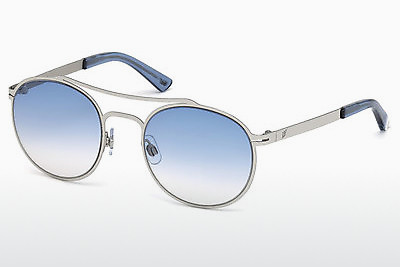 слънчеви очила Web Eyewear WE0172 16W - сребристи, Shiny, Grey