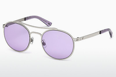 слънчеви очила Web Eyewear WE0172 16Y - сребристи, Shiny, Grey