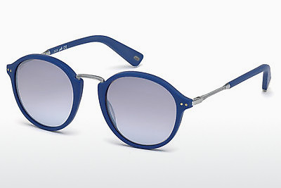слънчеви очила Web Eyewear WE0178 85X - сини, Azure, Matt