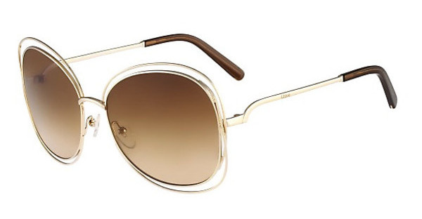 Chloé CE119S 786 ROSE GOLD/BROWN