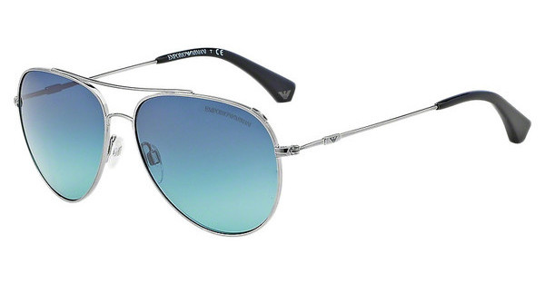 Emporio Armani EA2010 30104S LIGHT BLUE GRADIENTGUNMETAL
