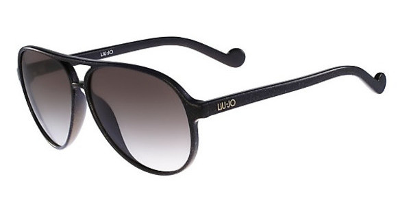 Liu Jo LJ634S 001 EBONY WITH GOLD GLITTER