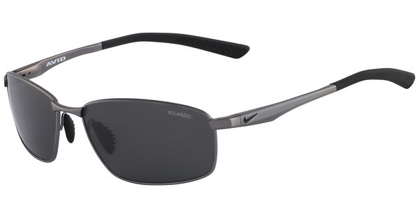Nike AVID SQ P EV0594 003 GUNMETAL WITH GREY Polarized LENS