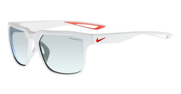 Nike NIKE BANDIT R EV0949 106 MATTE WHITE/BRIGHT CRIMSON WITH GREY W/ SUPER SILVER FLASH LENS LENS