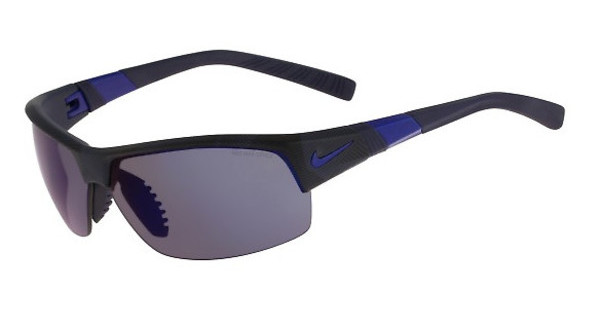 Nike SHOW X2 R EV0822 440 MATTE OBSIDIAN/GAME ROYAL/SHATTER WITH GREY W/ BLUE NIGHT FLASH LENS/GREY LENS LENS