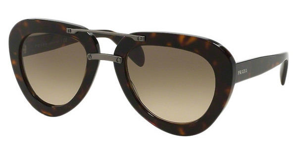 Prada PR 28RS 2AU3D0 LIGHT BROWN GRAD LIGHT GREYHAVANA