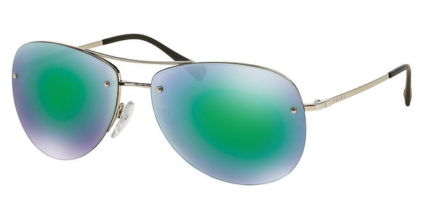 Prada Sport PS 50RS 1BC1M0 LIGHT GREEN MIRROR GREENSILVER