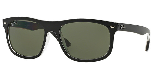 Ray-Ban RB4226 60529A DARK GREEN POLARTOP MATTE BLACK ON TRANSPARENT