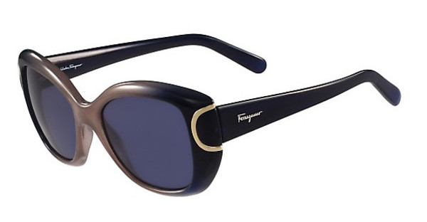 Salvatore Ferragamo SF819S 463 BLUE-TURTLE