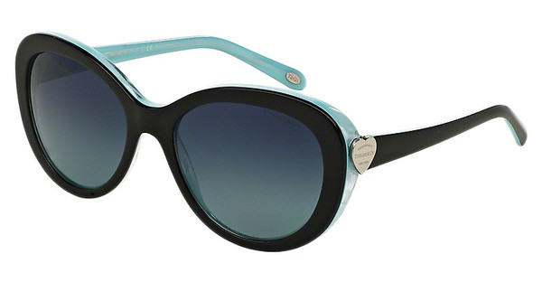 Tiffany TF4113 81934U POLAR AZURE GRAD DARK BLUEBLACK/STRIPED BLUE