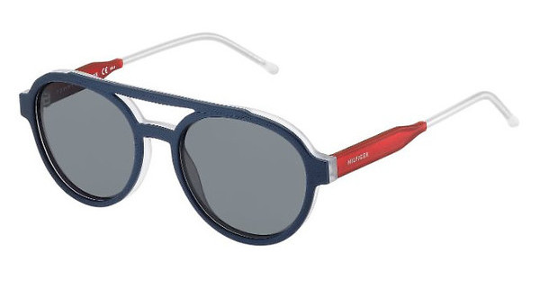 Tommy Hilfiger TH 1391/S QRE/DO GREYBLUE RED (GREY)