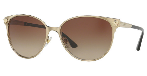 Versace VE2168 133913 BROWN GRADIENTBRUSHED PALE GOLD