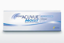 контактни лещи Johnson & Johnson 1 DAY ACUVUE MOIST for ASTIGMATISM 1MA-30P-REV