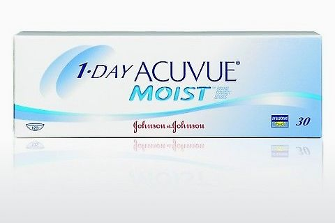 контактни лещи Johnson & Johnson 1 DAY ACUVUE MOIST 1DM-90P-REV
