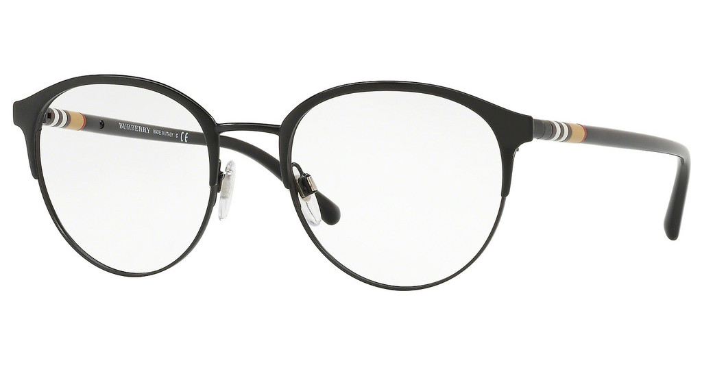 Burberry   BE1318 1252 BLACK/MATTE BLACK