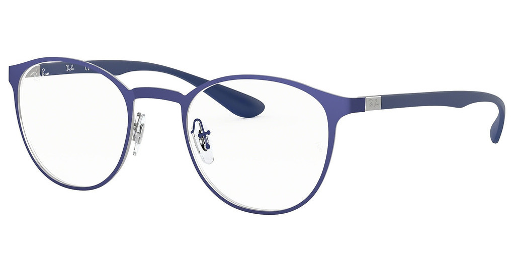 Ray-Ban   RX6355 2996 GUNMETAL ON TOP MATTE BLUE