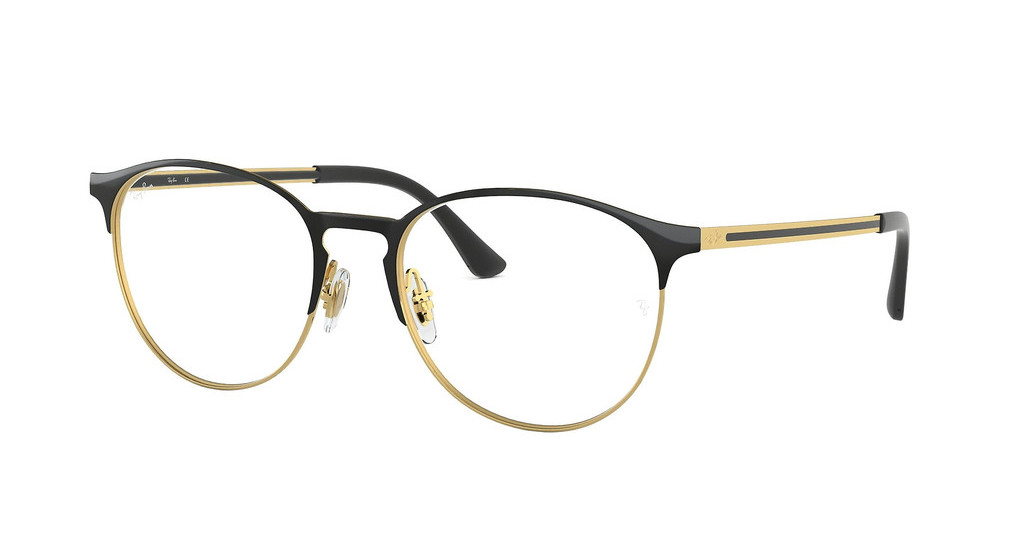 Ray-Ban   RX6375 2890 GOLD TOP IN BLACK