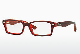 очила Ray-Ban Junior RY1530 3664 - червени